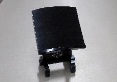 ■本黒檀見台 4.0寸 摺漆仕上 ※在庫処分特価品