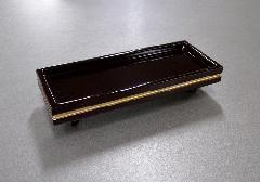 □木製ウルミ卓 4.5寸 タメ