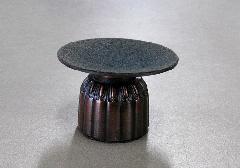 ●現代仏壇用リン台 茶 小 ※在庫処分特価品