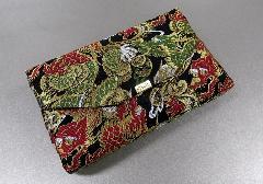 ■和柄バッグ 経本数珠入・マチ付バック 西陣織 龍柄