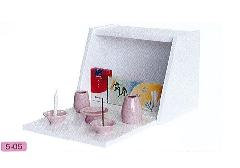 ◇手元供養BOX 小 ホワイト/大ピンクセット