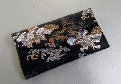 □念珠袋 西陣織 鷲柄