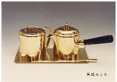 ◇油差し道具 角盆セット 箸・盆付