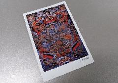 ☆仏画ポストカード H23 六道輪廻図 ※訳アリ品