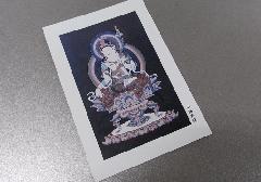 ☆仏画ポストカード H45 弥勒菩薩 ※訳アリ品