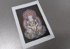 ☆仏画ポストカード H40 大日如来 ※訳アリ品