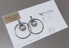 ★ピアス 貝殻 シルバー 【Rubby Orijinal  Handmade】