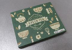 □緑茶キャンドル 56本入 緑茶エキス配合 渋みのある緑茶の香りローソク 【丸叶むらた】