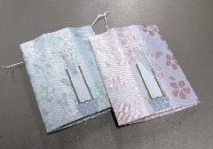 ☆六角骨覆 骨袋六角 2.0寸用 桜花 分骨袋