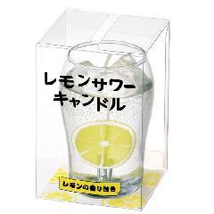 ★レモンサワーキャンドル 故人の好物ローソク 【カメヤマ】