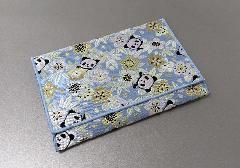☆念珠袋・数珠袋 しおん桜 パンダ ブルー