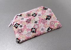 ☆念珠袋・数珠袋 くまモン 桜 ピンク