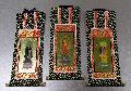 ●仏壇用掛軸 オリジナル 浄土宗 三幅 19.5×9.1�