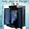 ◆創作仏壇 Holy glassシリーズ in Design 上置 17号地球 EARTH
