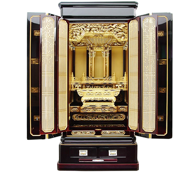 最高級輪島塗仏壇-全体写真