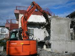 練馬区 家屋解体 鉄筋コンクリート