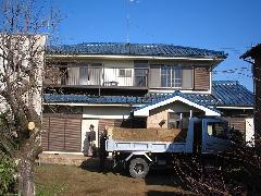 東京都清瀬市 家屋・物置の解体工事