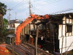 所沢市 アパート解体工事