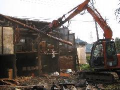 埼玉県所沢市 アパート解体工事