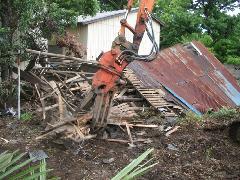 新座市大和田 木造住宅 取り壊し工事