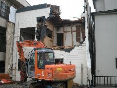 練馬区 住宅の解体工事
