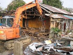 埼玉県朝霞 木造住宅の取り壊し施工