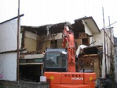 東京練馬区 戸建住宅の取り壊し
