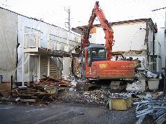 小平市 アパート解体