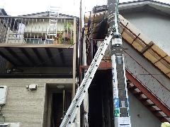 東京中野区 木造アパートの解体