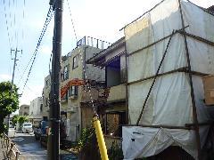 中野区 個人宅の解体と浄化槽の撤去処理