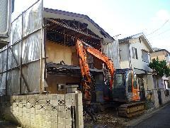 埼玉県朝霞市 戸建て住宅の解体工事