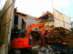 東京都豊島区 戸建て住宅の解体工事
