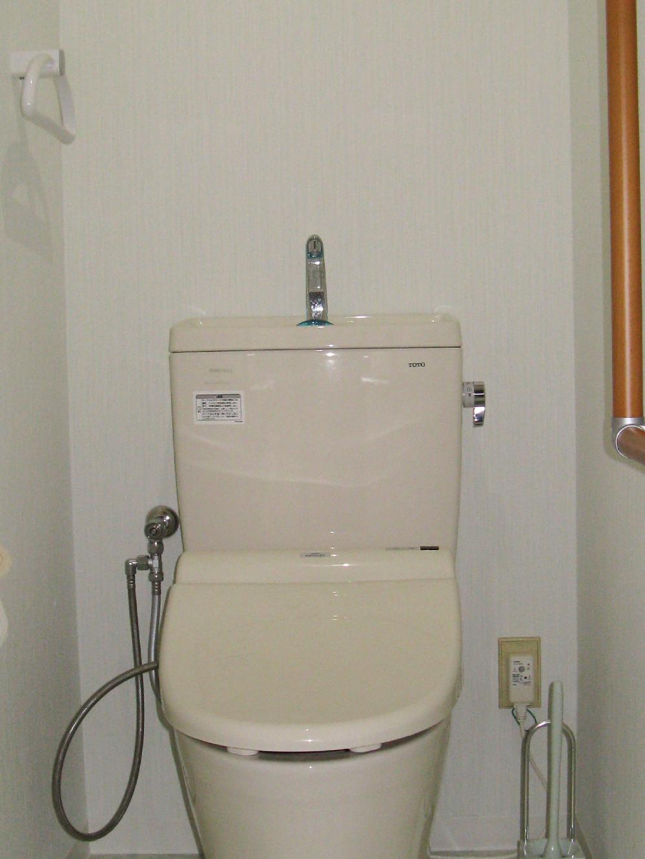 バリアフリーのトイレへリフォーム