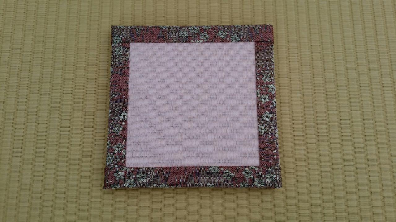 縁 花香(梅) 和紙表(薄桜色)