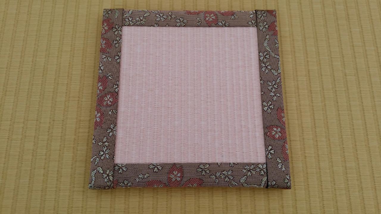 縁 花香(桜) 和紙表(薄桜色)
