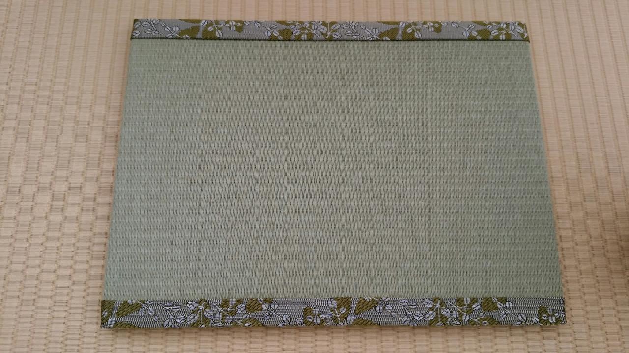 縁 花香(黄色) 和紙表(銀白色) 長型