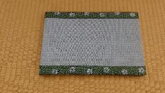 縁 花香(緑) 和紙表(青磁色) 長型
