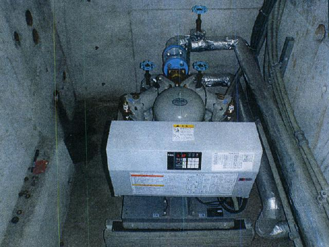 給配水設備加圧給水ポンプユニット