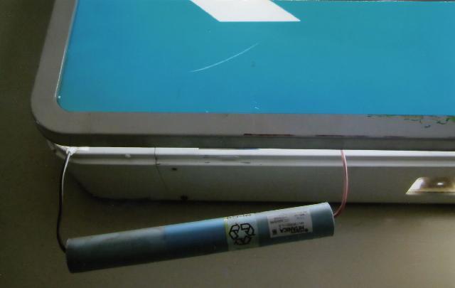 誘導灯設備バッテリー交換