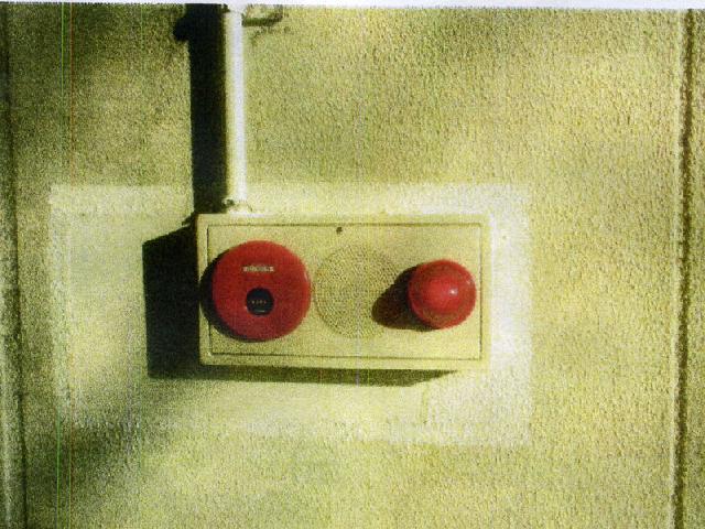 自動火災報知設備発信機総合盤交換完了
