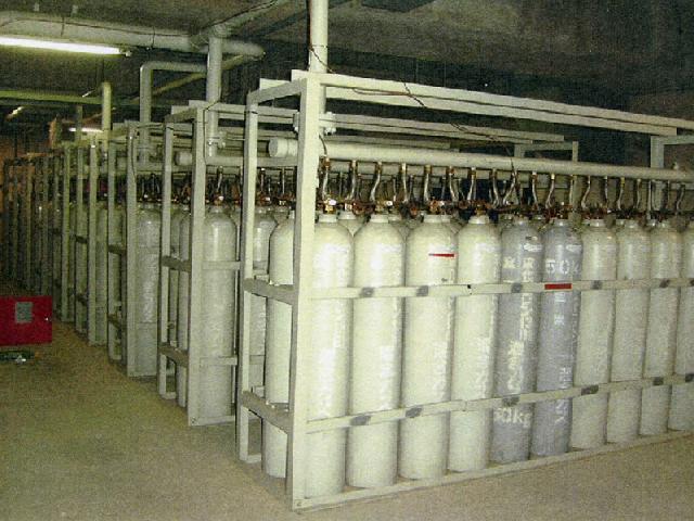 不活性ガス消防設備ハロゲン化物消防設備外観機能総合点検