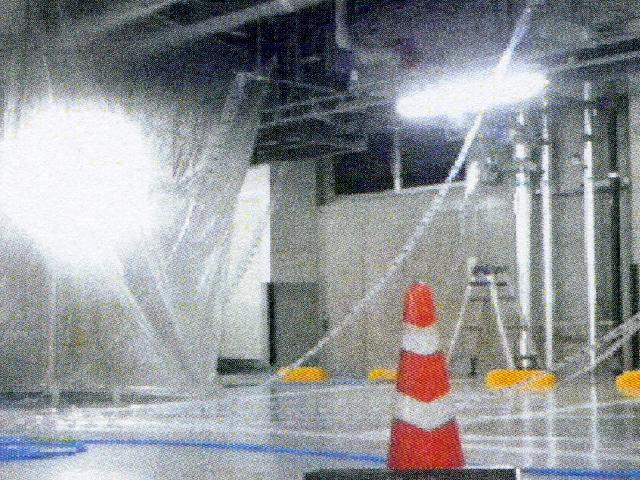 泡消火設備外観機能総合点検