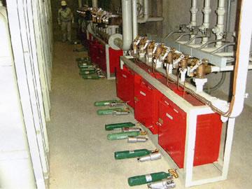 ・ハロゲン・二酸化炭素消火設備