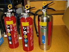 強化液(中性)消火器ステンレス製 2L