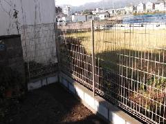 【滋賀県 大津市】フェンス取り付け工事