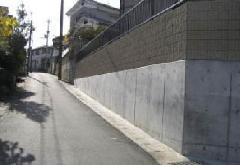 K邸 コンクリートよう壁工事