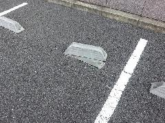 【京都市 中京区】車止め修繕工事」