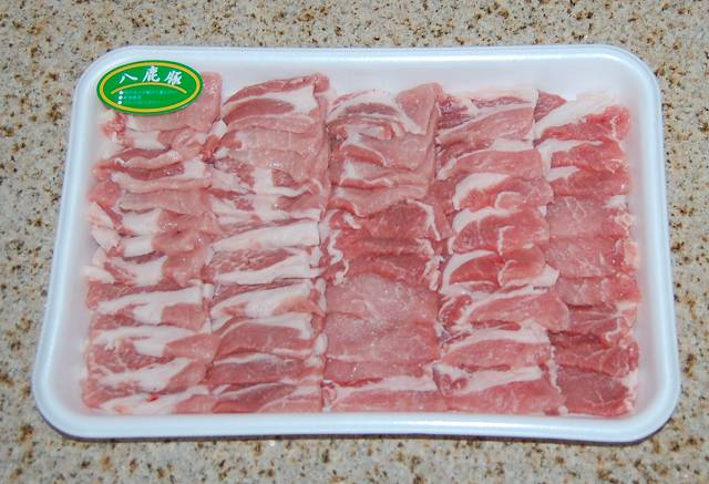 焼肉用八鹿豚(ようかぶた) 肩ロース750g