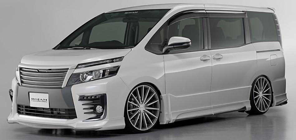 ROJAM エアロ 新車コンプリートカー販売 VOXY ZS