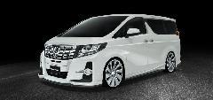30アルファード WALD スポーツライン ハーフ コンプリートカー販売 ガレージスパーク